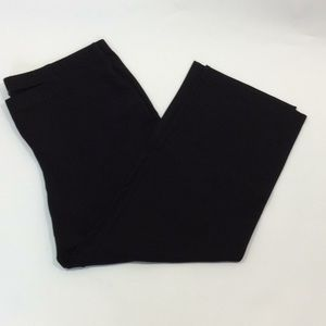 New Eileen Fisher black ponte knit pants